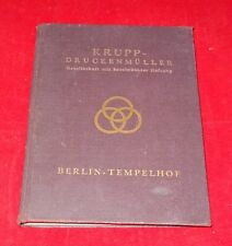 Krupp-Druckenmüller Eisen-,Draht- und Röhrengrosshandel, Stahlbau, Brückenbau