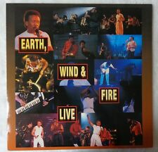 EARTH WIND & FIRE LIVE LASER DISC 1994 SELL OUT TOUR JAPAN DIGITAL SOUND IMAGE