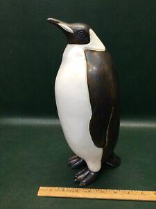 Rare Huge Andersen Design Studio Stoneware Pottery Emperor Penguin Sculpture