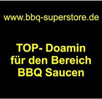 www.bbq-superstore.de Domainname Webadresse für BBQ Saucen Snacks USA Domain