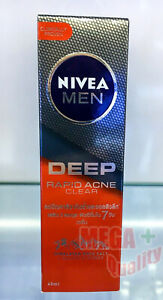 NIVEA MEN Deep Rapid Acne Clear Serum Salicylic Power Oily Acne Skin 45ml