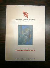 Orchestra Sinfonica Nazionale Della RAI#STAGIONE 1997-1998#Radiotelevione Ita.-V