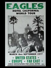 """The Eagles  Hotel California 16"""" x 12"""" Photo Repro Promo Poster"""