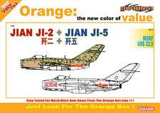 1/72 PLAAF JIAN JI-2 (Mig-15) + JIAN JI-5  (Mig-17) CyberHobby  Value Pack 2517