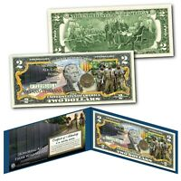 VIETNAM VETERANS Honoring all those who Served Genuine Legal Tender U.S. $2 Bill