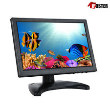 """10"""" IPS Touch Screen LCD HDMI Monitor with Speaker VGA AV BNC For PC CCTV POS"""