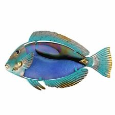 Fish Wall Artwork Fairy Sculptures Decorative Home And Garden Statues Decoration