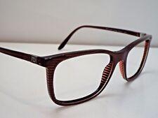 Authentic VERSACE VE3197 5102 Striped Brown Eyeglass DEMO Frame MSRP $259