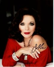 JOAN COLLINS Signed Autographed Photo