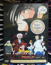 DVD ANIME BLACK JACK 21 Complete TV Series Vol.1-17 End English Subs +FREE ANIME