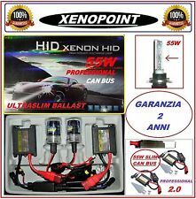 KIT XENON XENO 55W DIGITAL 2.0 H7 H1-H3 H11 HB3 HB4 H9 5000K 6000K SLIM CANBUS