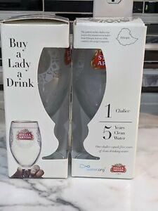 STELLA ARTOIS Chalice Glasses 33cl