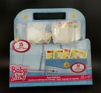New Baby Alive Doll Food and Diapers Super Refill Pack 30 pieces Toys R Us read