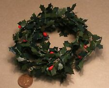 1:12 Scale 1.2m Long Climbing Holly Style Plant Dolls House Garden Accessory N4
