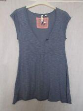 White Stuff denim blue, short sleeve jumper size 10, excellent condition