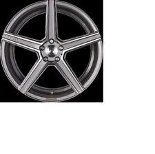 MB Design KV1 Grigio Brillante Lucidato Cerchione 12x20 - 20 Pollici 5x108
