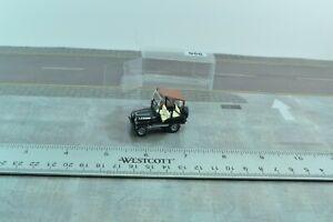 Roco Jeep Laredo Black 1:87 HO Scale (HO956)