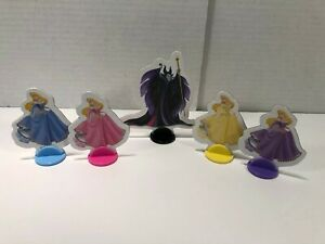 Pretty Pretty Princess Sleeping Beauty Replacement 4 Pawns & Evil Queen w/ Stand