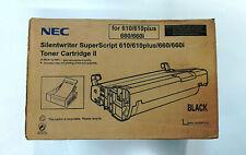 Toner NEC silentwriter superscript 610/610 Plus/660/660i Black Original