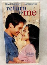 RETURN TO ME, DAVID DUCHOVNY  MINNIE DRIVER FUNNY VHS, HI-FI FACTORY SEALED NEW