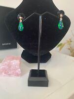 Black Opal 9 Ct Earrings