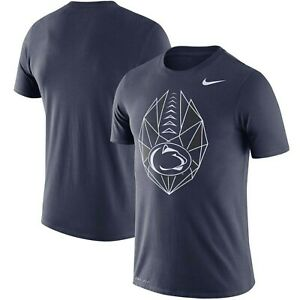 Penn State Nittany Lions NCAA Icon Performance Dri-FIT T-Shirt XXL/Navy/Nike/NWT