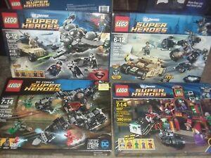 SEALED LEGO SET BATMAN DC UNIVERSE SUPER HEROES LOT 6857 FUNHOUSE HARLEY QUINN