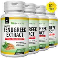 FENUGREEK SEED 2000mg EXTRACT BOOST TESTOSTERONE ANABOLIC SUPPORT CAPSULES