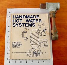 Handmade Wood Stove Hot Water Systems + Custom Storage Tank Adapter Fitting