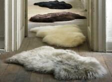 Fluffy Rug Plain Sheepskin Soft Faux Fur Shaggy Home Decor Mats Wool Living Room