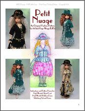 """Petit Nuage"" 18 inch Ball Jointed Doll Bjd Kaye Wiggs Fashion Clothing Pattern"