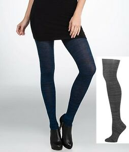 HUE Women's Tights Space Dyed Sweater Tights Catauna S/M, M/L