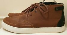 Lacoste Chukka Boots Trainers Shoes Suede Leather Amipthill Tan Brown UK 8 / 42