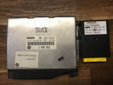 BMW e36 m43 316i Dispositif de commande dme moteur taxe périphérique Incl. SME et clé