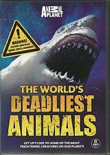 THE WORLD'S DEADLIEST ANIMALS - 6 DVD BOX SET - ANACONDAS, KILLER CROCS & MORE