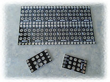 """(12) x 3PDT """"Small Footprint"""" True Bypass Wiring Boards - PCB - DIY Stompbox"""