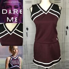 Real Cheerleading Uniform Dare Me Colors Plain Adult Med