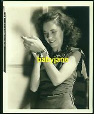 MAUREEN O'SULLIVAN VINTAGE 8X10 PHOTO 1935 AS JANE CANDID TARZAN ESCAPES DBL WGT