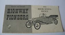 752  Revell H54 89 Gowland & Gowland 1955 dépliant 6 pages  Mercedes