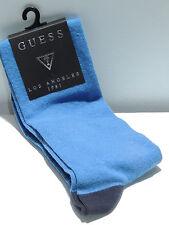 Calzino calza alta uomo socks GUESS a.UB8U6M t.L/XL 43/46 9,5/12 c.U048 bluette