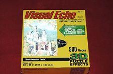 Hobbico Visual Echo Neuschwanstein Castle 500 piece 3D Jigsaw Puzzle New Sealed