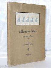 H Willebeek Le Mair - Schumann Album 1st Ed 1913 HB DJ