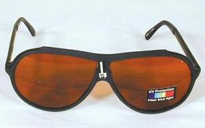 2 BLUE BLOCKER yellow lense SUNGLASSES UV mens womens glasses eyewear sun block