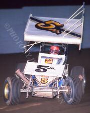 SPRINT CAR PHOTO WORLD OF OUTLAWS JIMMY SILLS SAN JOSE RACEWAY 1987