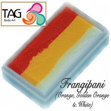 Tag BODY ART ONE STROKE Professional Face Paint Cake (30g) ~ Frangipani