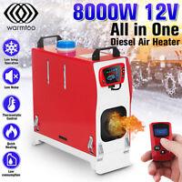 Warmtoo 12V 8KW Diesel Luft Heizung Alle IN 1 Thermostat Wohnwagen Boot