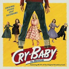 CRY-BABY: THE MUSICAL CD - ORIGINAL STUDIO CAST RECORDING (2015) - NEW UNOPENED