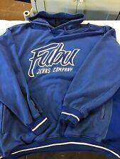 Vintage Fubu Sweatshirt Hoodie Blue Size Xxxl