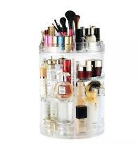 Rotating Makeup Organizer, Boxalls 360 Degree Crystal Adjustable