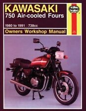 Kawasaki 750 Air-Cooled Fours, 1980-1991 (Owners Workshop Manual)-ExLibrary